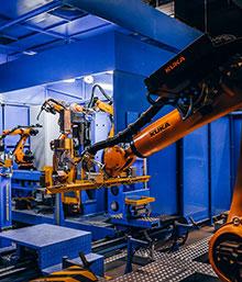 Robot_1 Nahlédněte pod pokličku výroby regálů NEDCON